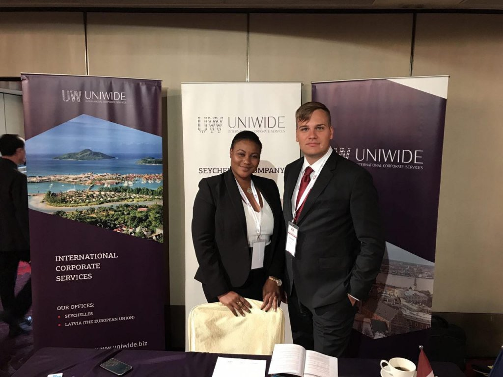 Uniwide team took part in Asia Offshore Forum Hong Kong 2017