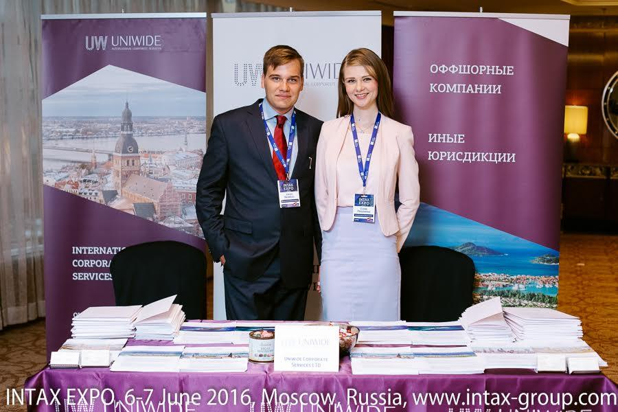 Uniwide took part in the conference INTAX EXPO RUSSIA 2016